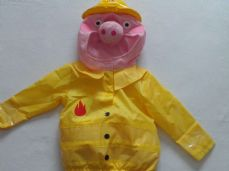 Adorable 'Peppa Pig Fireman' Padded Fancy Dress Playsuit Age: 1-2 years